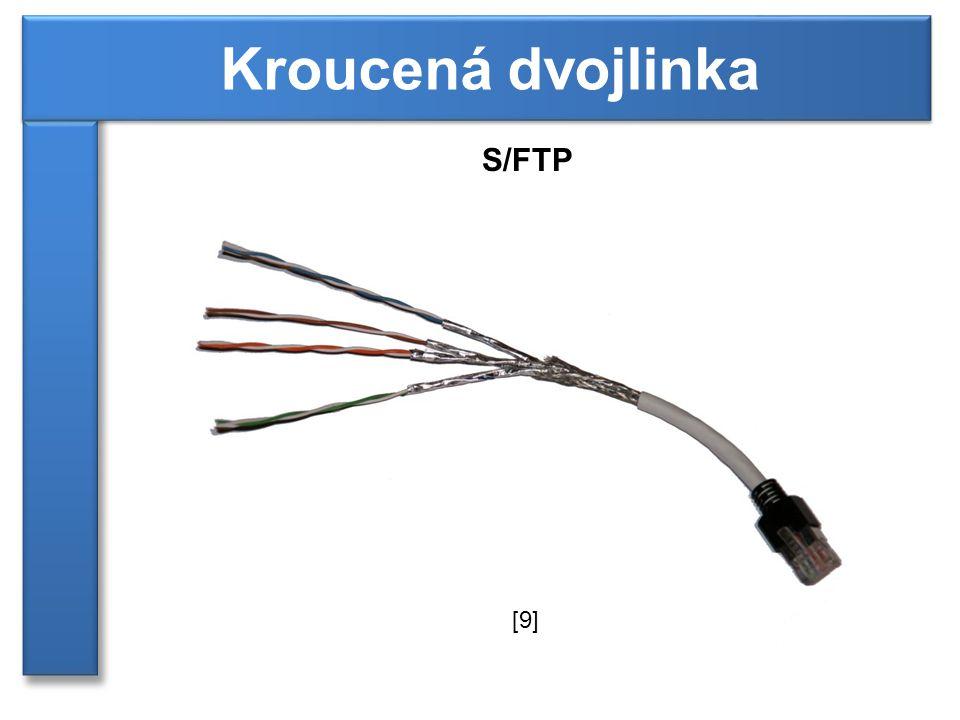 Kroucená dvojlinka S/FTP [9]